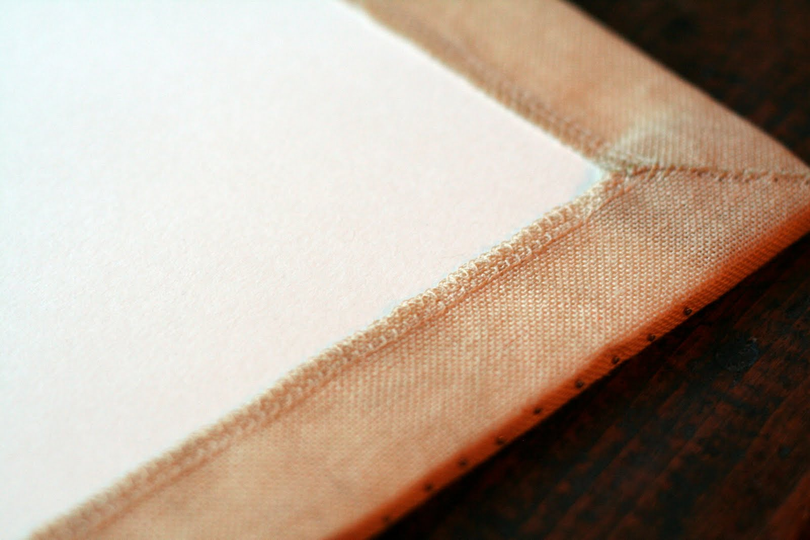 With thy Needle & Thread: Preparing a sampler for framing...