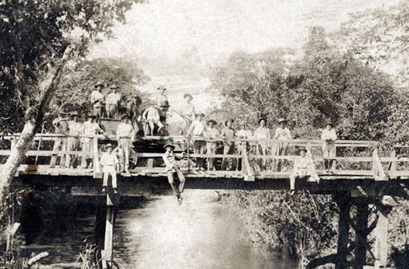 As primeiras pontes