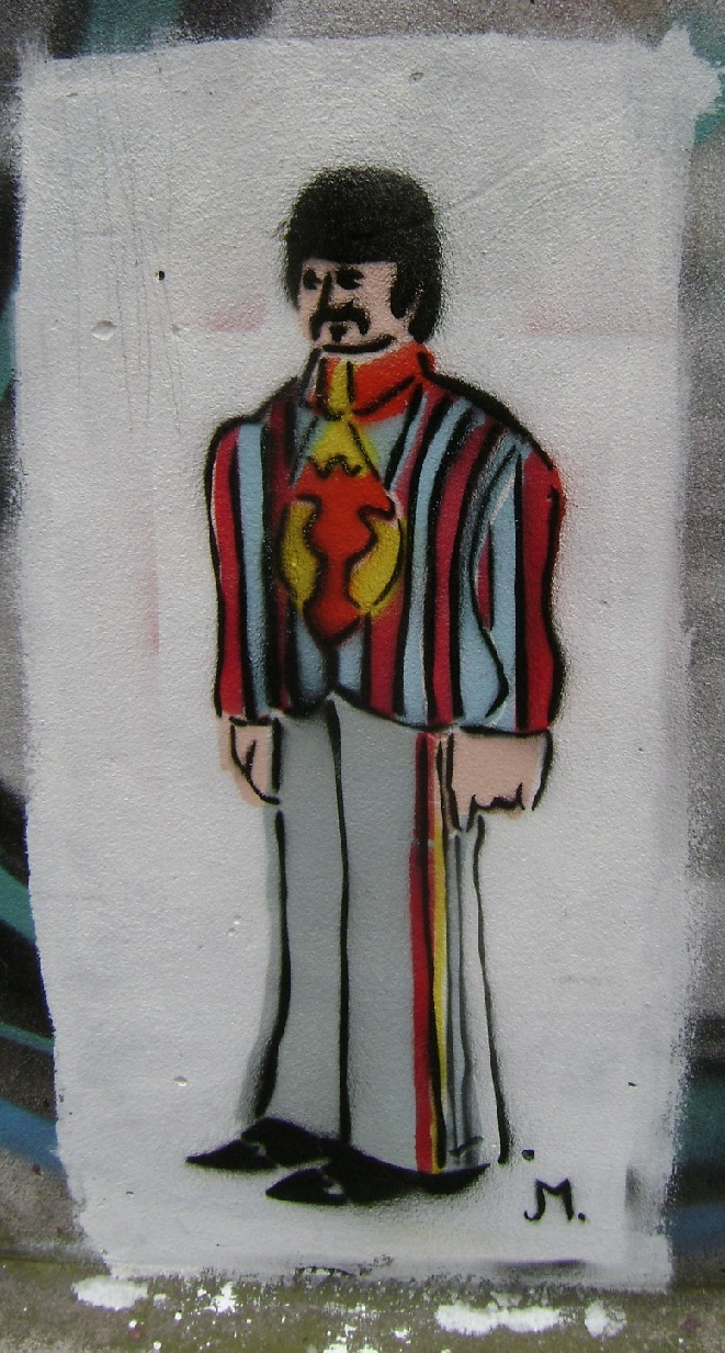 RINGO STARr   yellow submarineYellow Submarine Stencil
