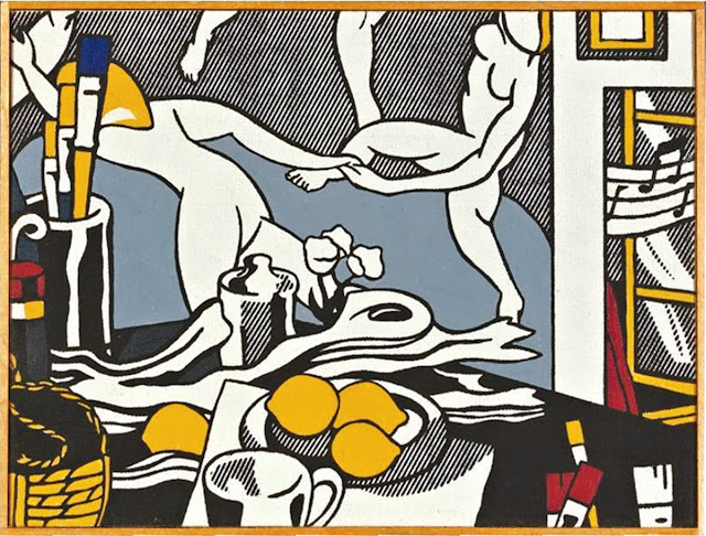 Richard Pettibone Roy Lichtenstein, The Artist's Studio: The Dance, 1975
