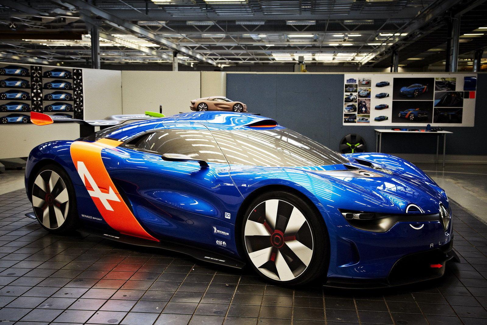 car i Renault Alpine vai chegar em 2015
