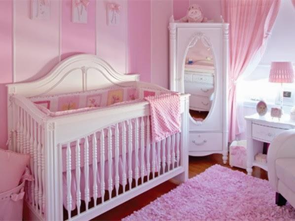 Dormitorios de beb en rosa colores en casa for Cuarto de nina rosa palido