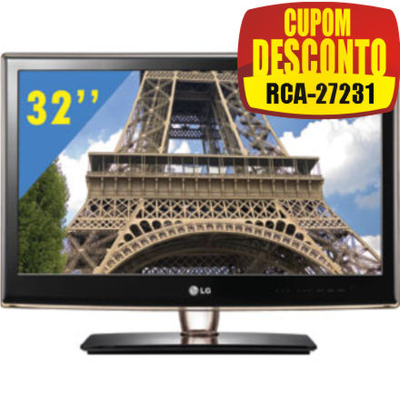 Cupom Efácil - TV 32 LG 32LV2500