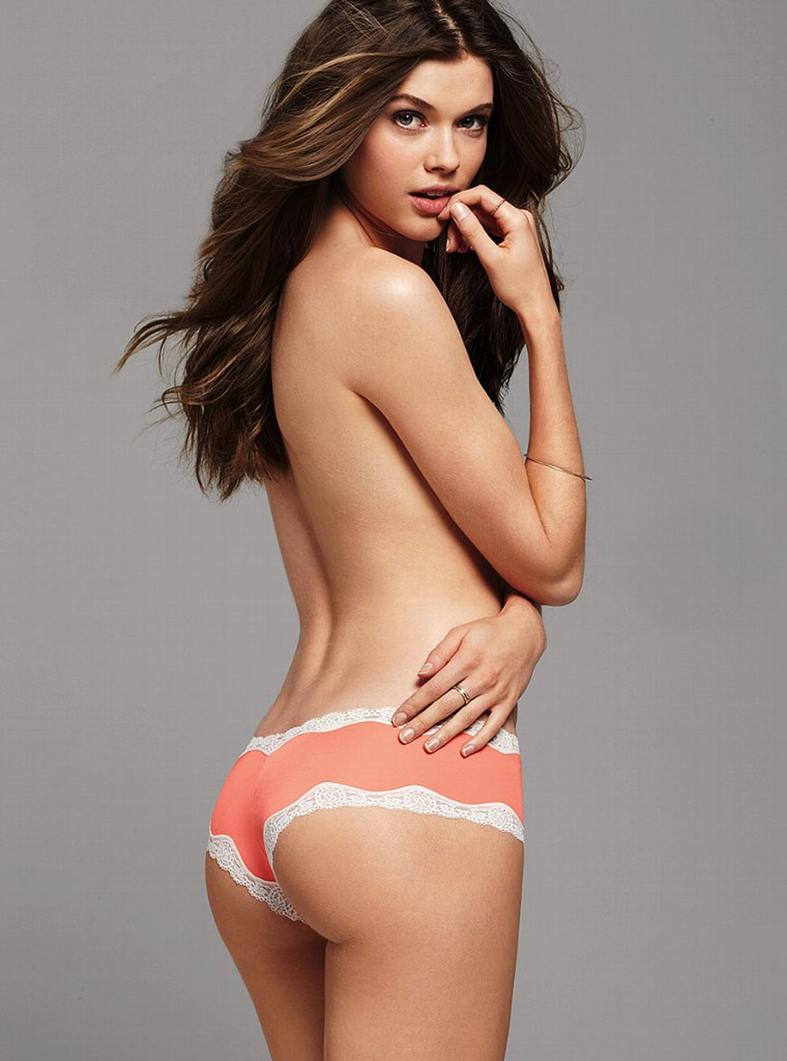 Victoria Lee In Victoria Secret Lingerie Candid Magz