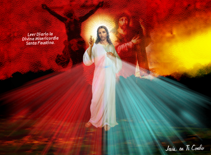 imagen de jesus misericordios
