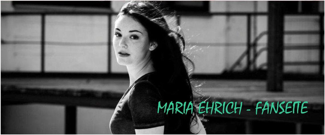 Maria Ehrich - Fanseite