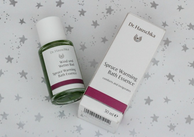 Dr Hauschka Spruce warming bath essence