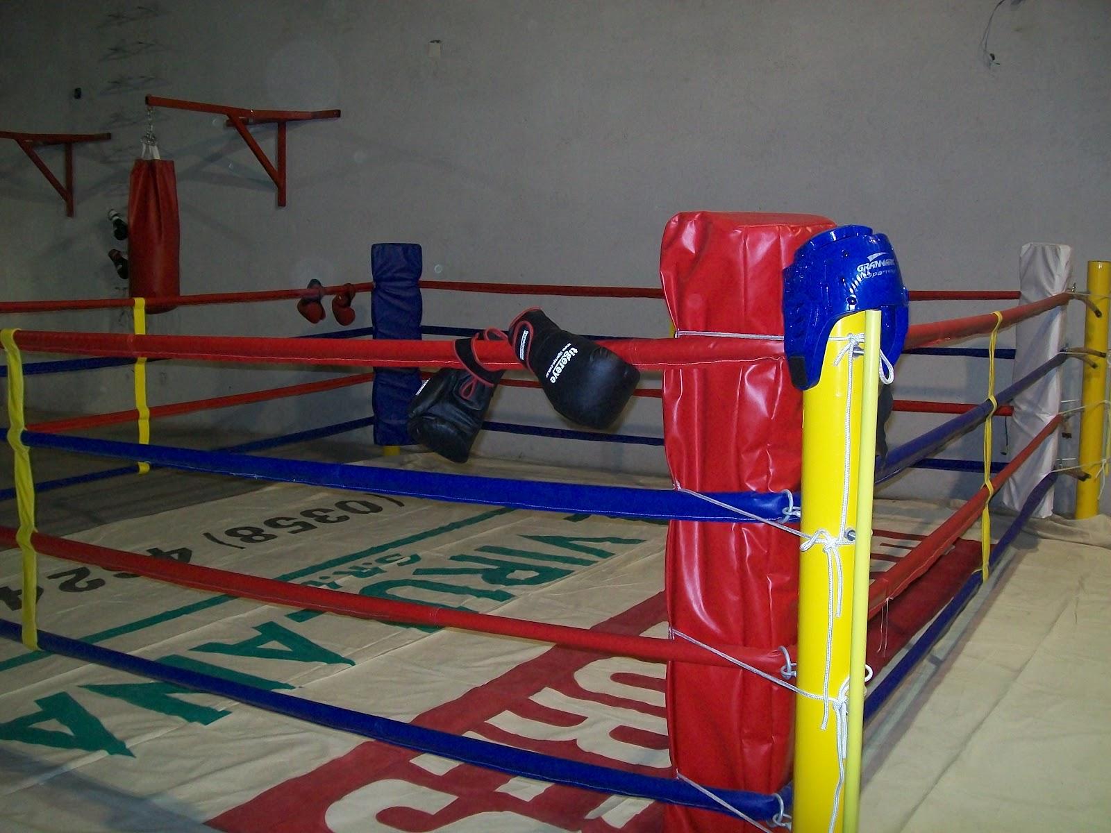 Radio sampacho informa el boxeo de sampacho inauguro su for Gimnasio narvaez