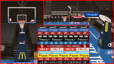 NBA 2K14 Oklahoma City Thunder Court Patch