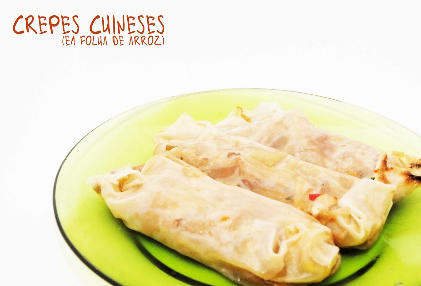 Frango do campo crepes chineses - Ingredientes para crepes ...
