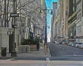 Paisajes Urbanos Naturales Pinturas hiperrealistas