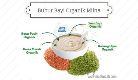 Bubur bayi organik dari Milna