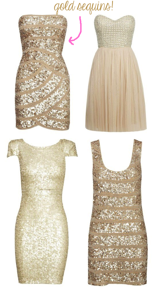 Corin bakes lgd little glitter dress for Glitter new years dresses