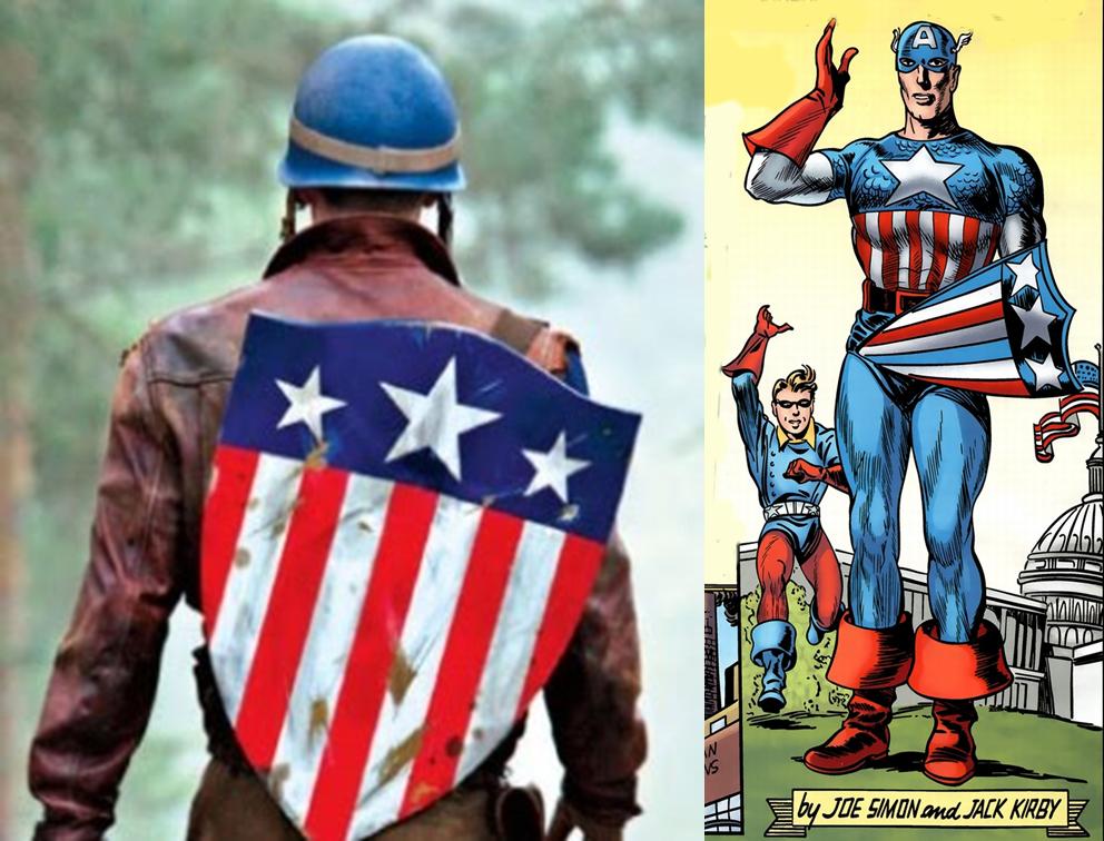 Primeiro Escudo do Capitão América