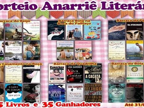 Sorteio Anarriê Literário.