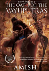 The oath of the vayuputras book cover