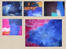 Pinturas de Filipe Mélo- pintor com autismo.