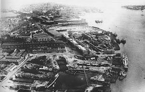 Portsmouth Dockyard 1930's