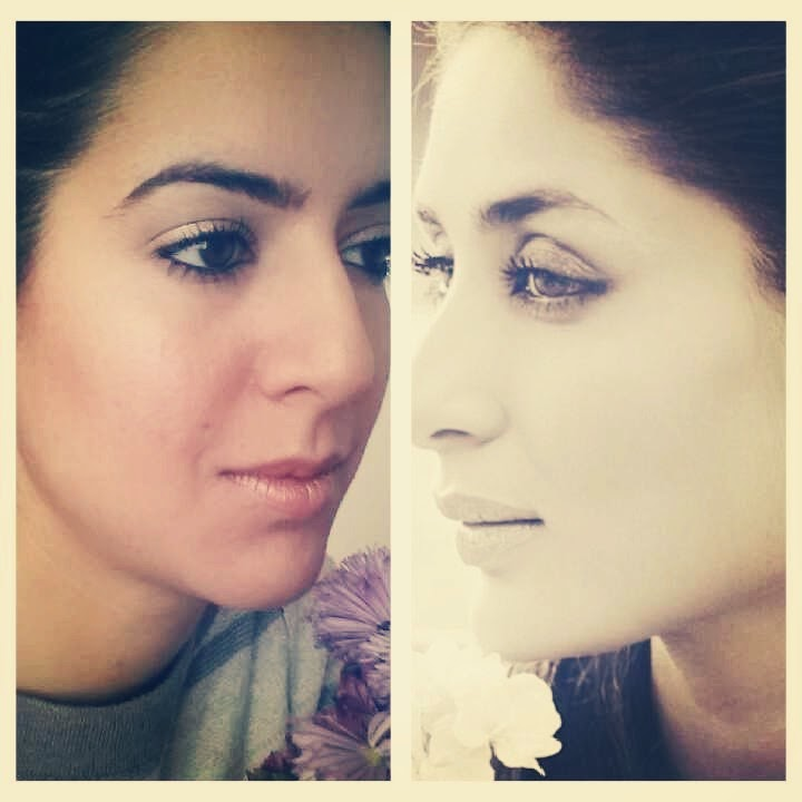 Bollywood Inspired Makeup Kareena Kapoor Inspired Monochromatic Look
