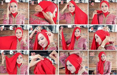 Tutorial Hijab Dian Pelangi