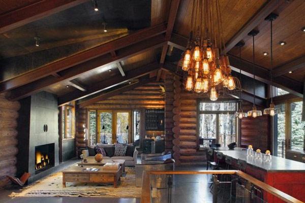 Diseño de interiores & arquitectura: cabaña de vacaciones ...