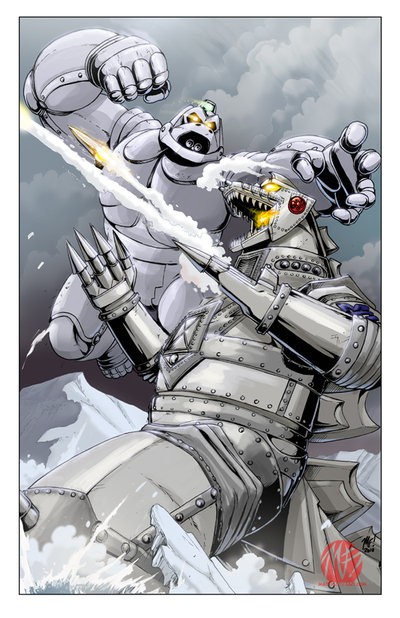 inspired the creation of Mechagodzilla for Godzilla vs  MechagodzillaGodzilla Vs Mechagodzilla 2 Toys