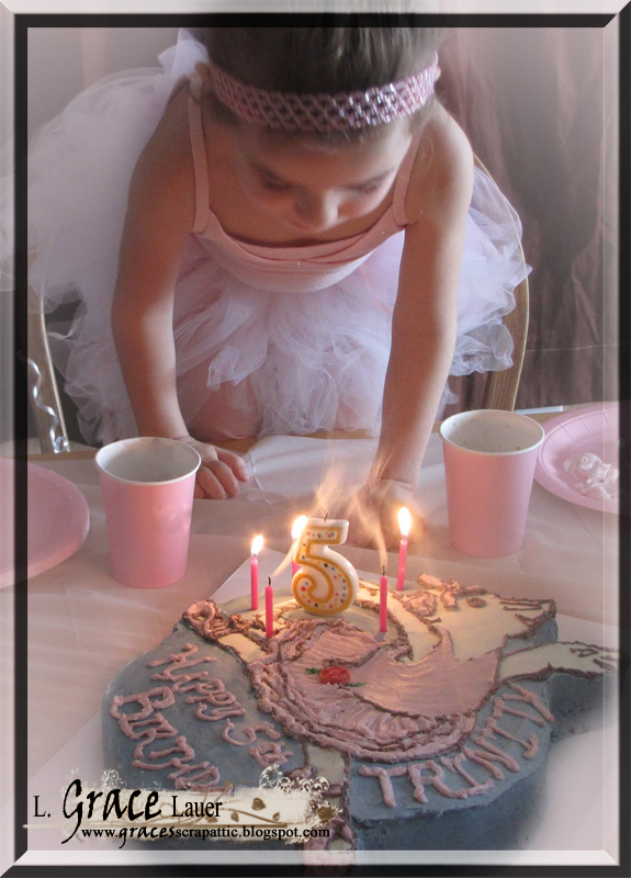 Uniquely Grace The Angelina Ballerina Ballet Birthday For My