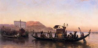 Μωυσής και Ακενατόν - Funeral of a Mummy, Frederick Arthur Bridgman