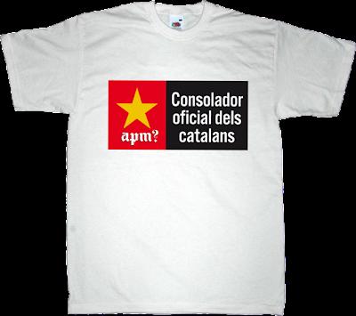 APM? Alguna Pregunta Més? fun irony damm catalan catalonia t-shirt ephemeral-t-shirts