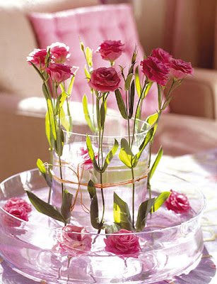 Decoraciones y mas elegantes centros de mesa con flores - Centros de mesa modernos para casa ...