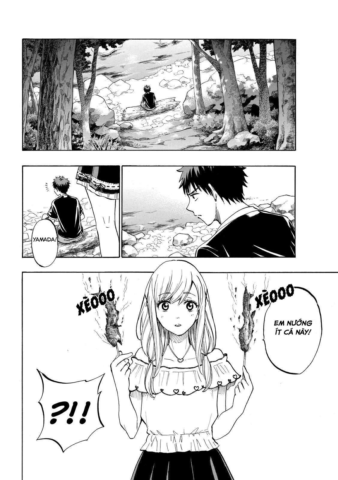 Yamada kun to 7 nin no Majo Chap 227 - Trang 14