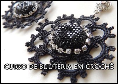 CURSO DE BIJUTERIA EM CROCHÊ