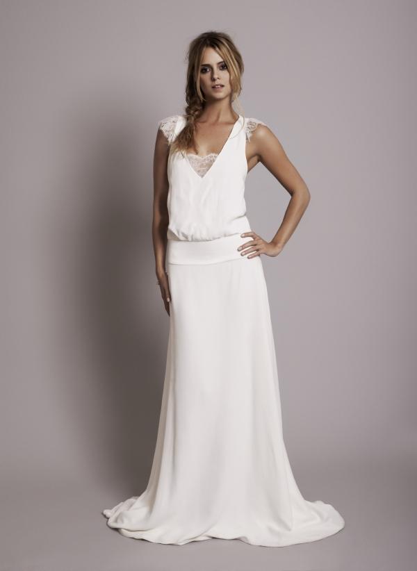 vestidos de novia con un toque parisino - quiero una boda perfecta