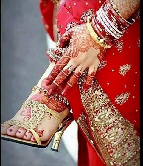 Beautiful latest simple arabic pakistani indian bridal girl mehndi designs top 100 dulhan - Beautiful dizain image ...