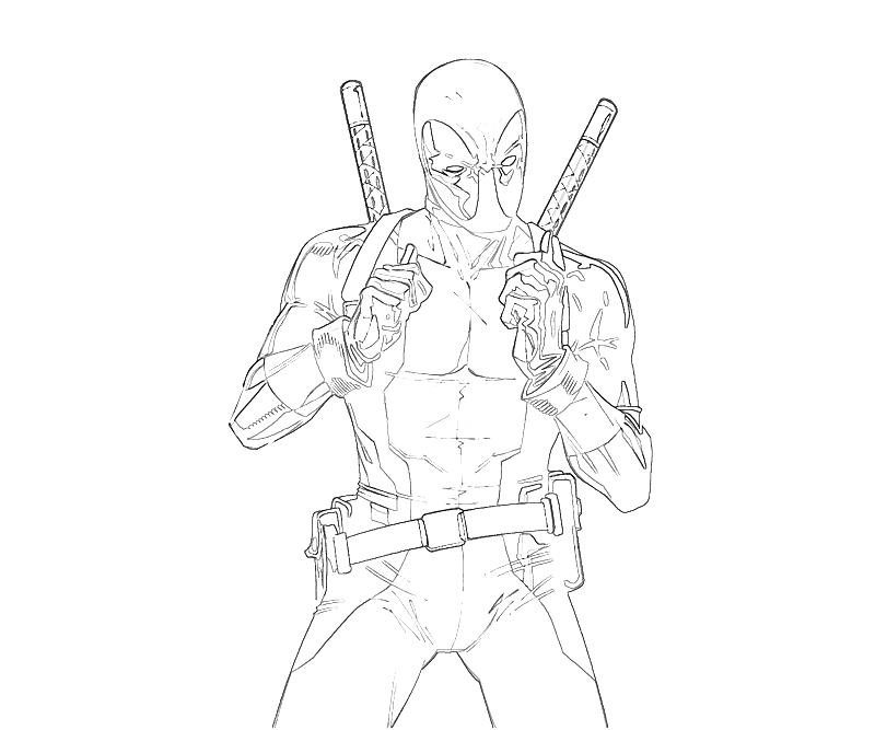 Deadpool Coloring Pages: Free Coloring Pages Of Lego Deadpool