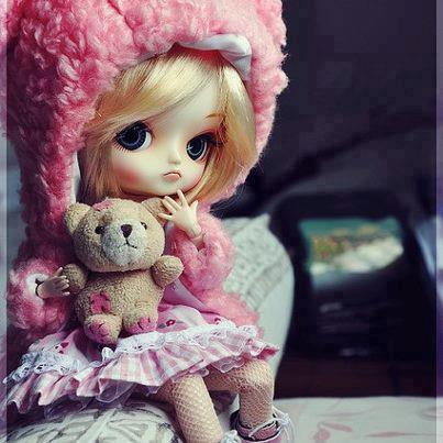 FACEBOOK DP AND COVER: DOLL DP
