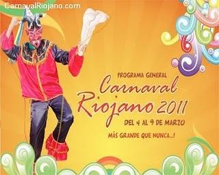 Poster del Carnaval Riojano 2011