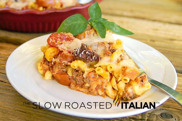 Italian Breakfast Skillet: Pork, it's whats for breakfast!