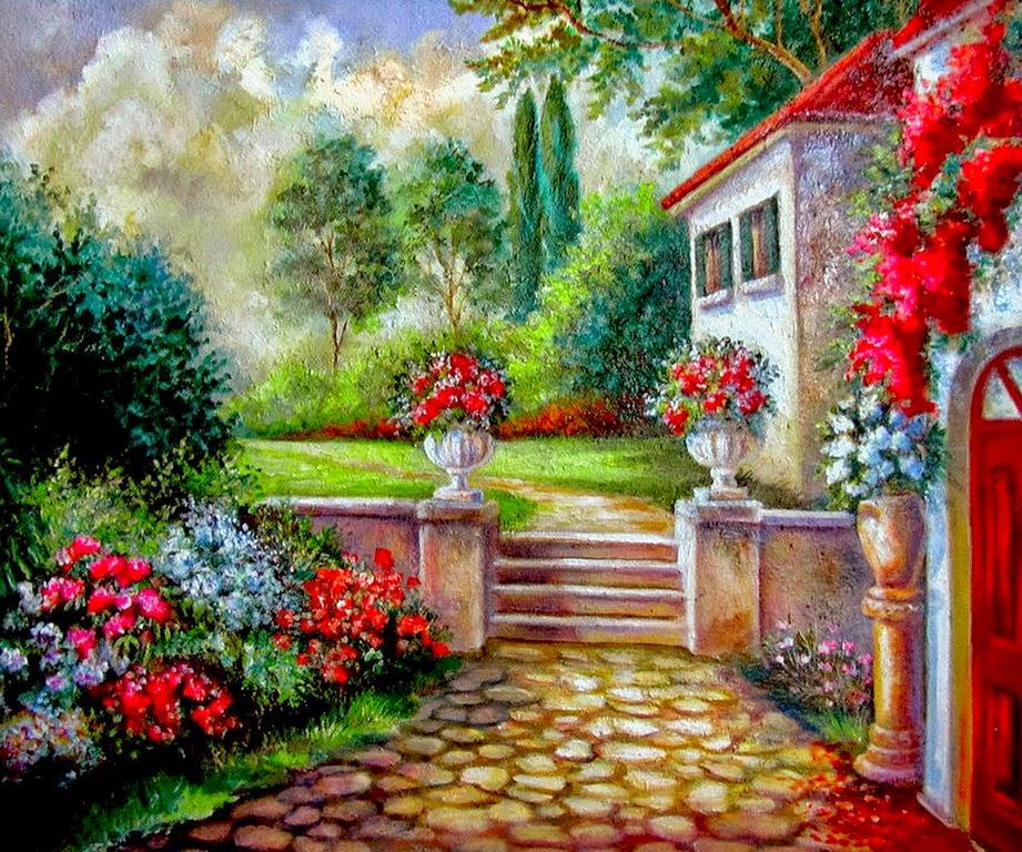 pinturas-paisajes-y-flores