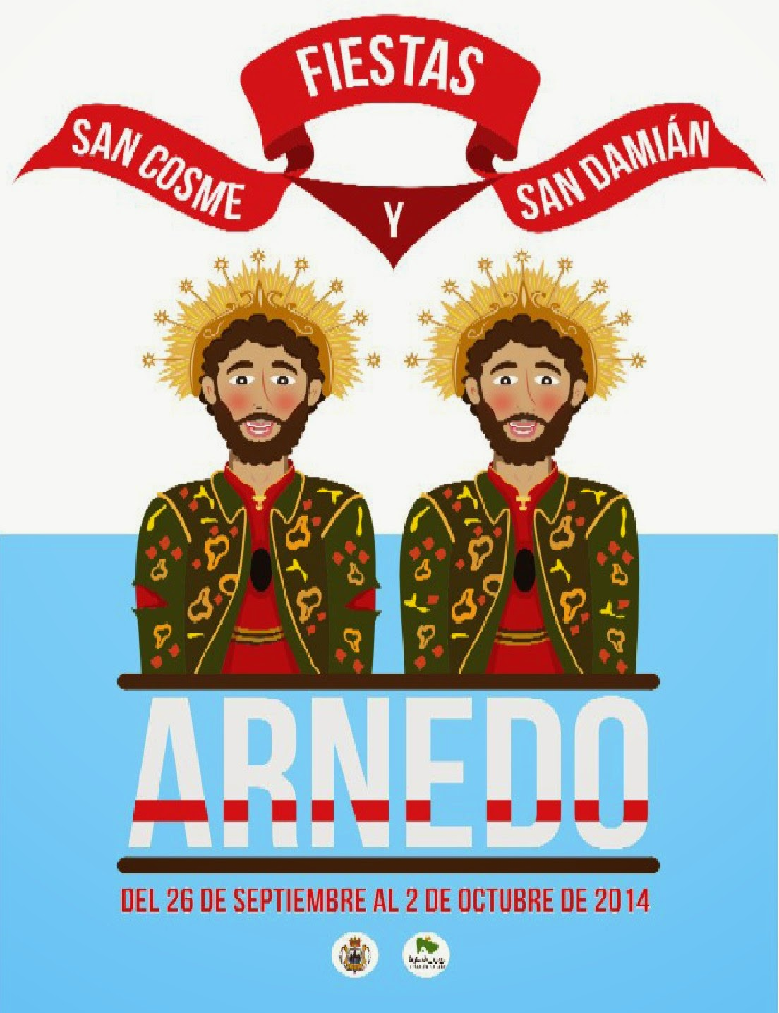 PROGRAMA FIESTAS SAN COSME Y SAN DAMIÁN 2014