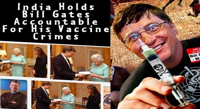 """Η Ινδία """"σούταρε"""" το πρόγραμμα εμβολιασμού του Ιδρύματος Bill & Melinda Gates"""