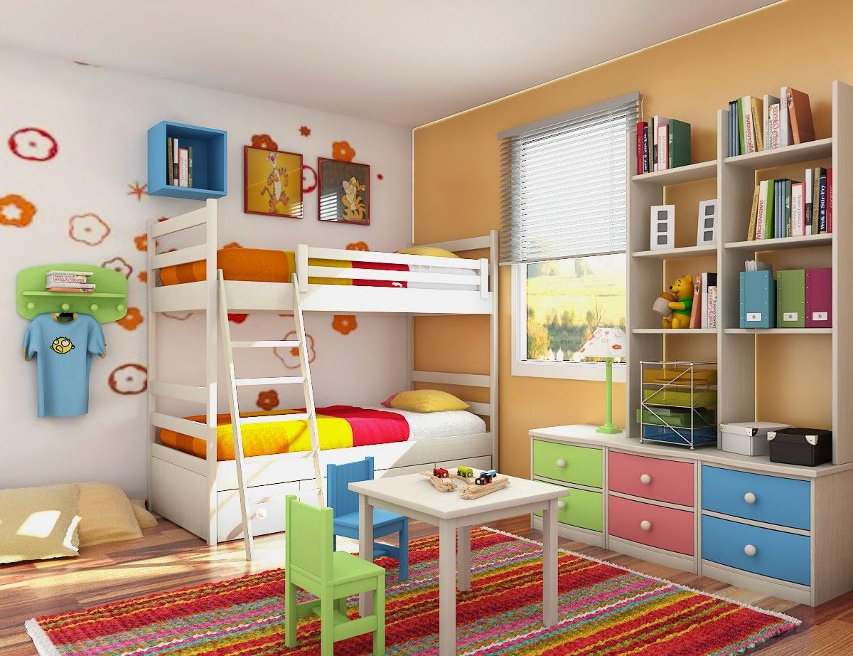 contoh desain kamar tidur anak laki laki minimalis