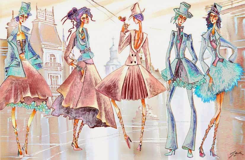 Дизайн одежды и все про него