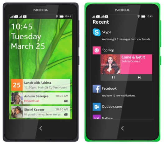 Nokia Launched Nokia X, Nokia X+ and Nokia XL Android Smartphones