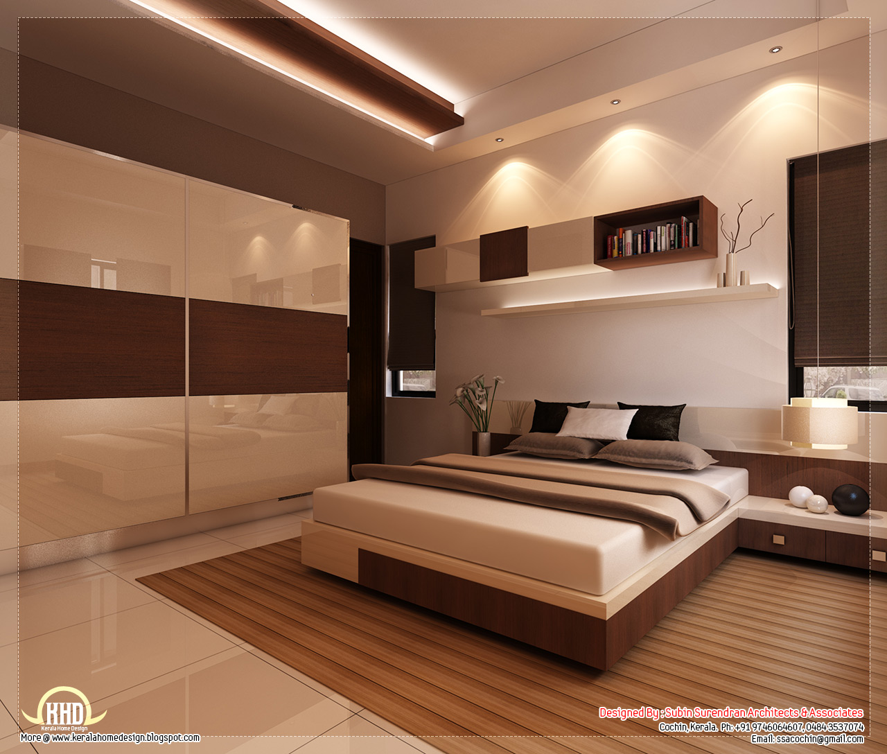 Kerala home design interior bedroom - Dining Room Interior Bedroom Interior