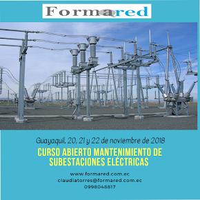 Curso Abierto Mantenimiento de Subestaciones Eléctricas 2018 en Guayaquil