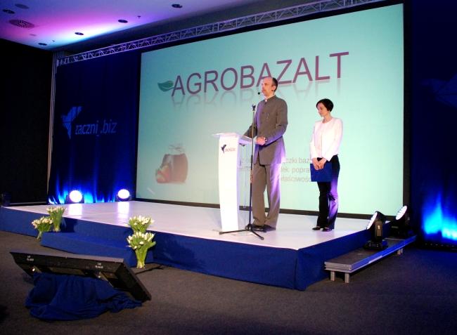 Prezentacja Agrobazalt - fot. www.granty-na-badania.com