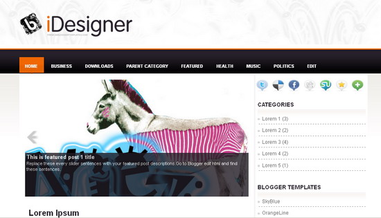 Best Premium Blogger Template