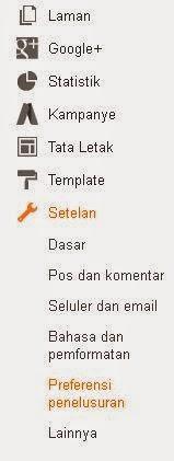 Cara Menampilkan menu Deskripsi pada bilah Postingan Blog
