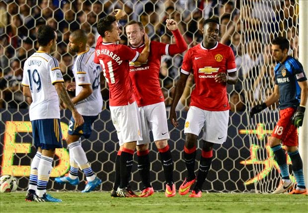 Video Keputusan Manchester United vs LA Galaxy Pre Season US Tour 2014